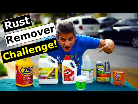 Rust Remover Challenge: What Removes Rust Stains Off Concrete?