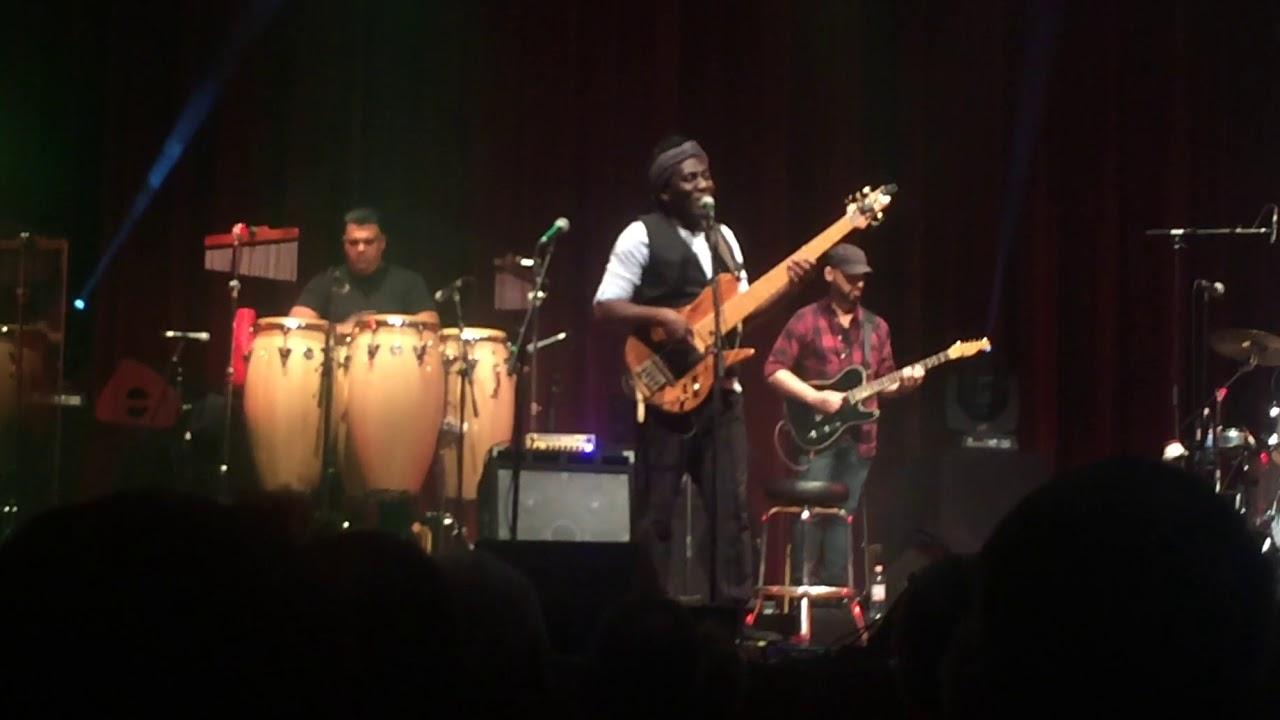 JANJO LA MAYA - Richard Bona LIVE in Ludwigshafen [21.10.2017]