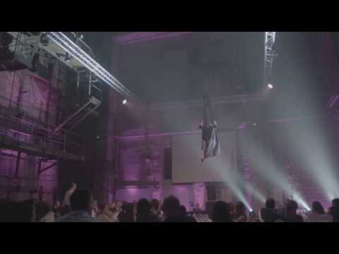 "AERIAL HAMMOCK  LIVE SHOW ""Crazy in Love"". ESTONIA.TALLINN"