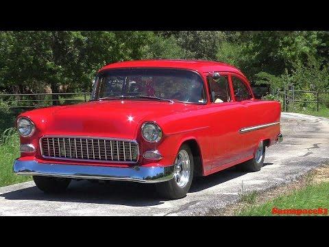 1955 Chevrolet 210 Sedan Custom Street Hot Rod 55 Chevy BelAir Dream Machine