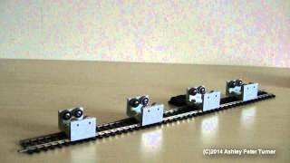OO/HO Gauge Model Train Rolling Road/Dynamo Set Review/Overview HD