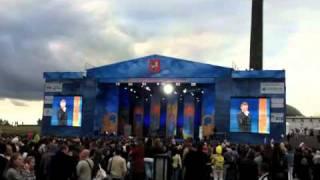"""""""REVOLVERS"""" - Целуй меня. День Города Москвы 4 сентября 2011."""
