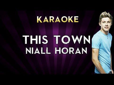 Niall Horan - This Town   HIGHER Key Karaoke Instrumental Lyrics Cover Sing Along