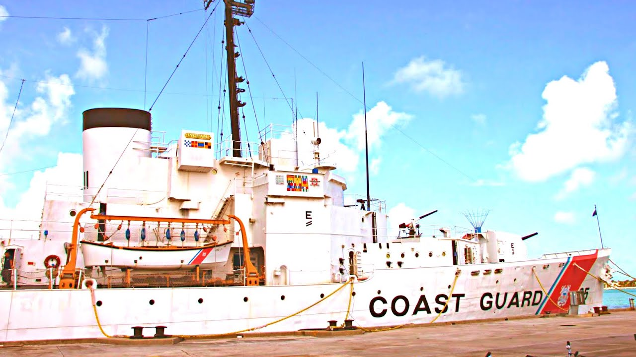 US Coast Guard Cutter Ingham Maritime Museum Key West Florida - Ship museums in us