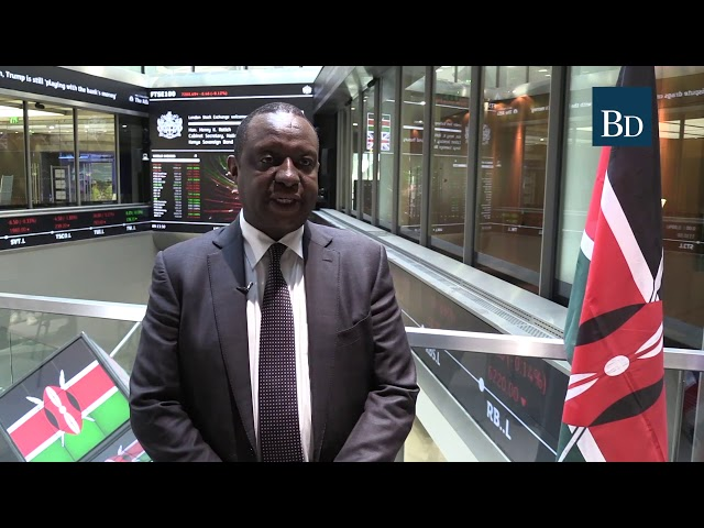 CS Henry Rotich opens London Stock Exchange