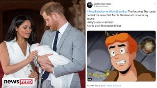 Royal Baby Name Creates FIRESTORM of Memes