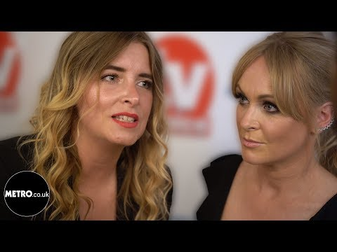TV Choice Awards 2018 Emma Atkins and Michelle Hardwick interview | Metro.co.uk