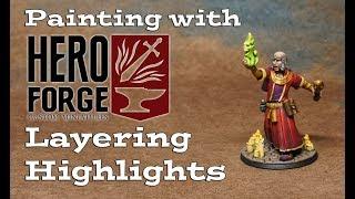 Painting Heroforge 2: Layering & Highlighting