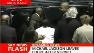 Michael Jackson -  2005 Live Court Verdict