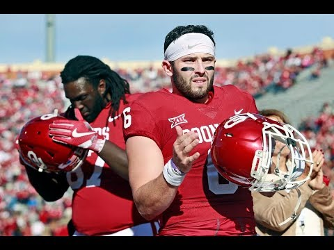 Baker Mayfield Wins The 2017 Heisman Trophy