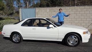 Acura Legend купе 1994 года доказывает, что Acura когда-то была крутой