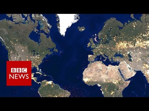 Maps reveal hidden truths of the world's cities - BBC News