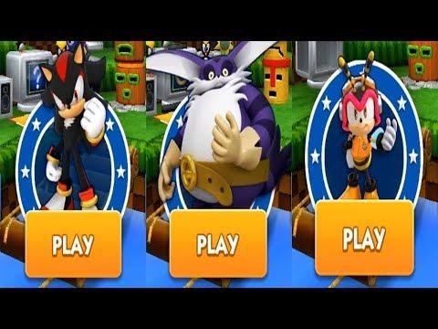 Sonic Dash - SHADOW VS BIG VS CHARMY