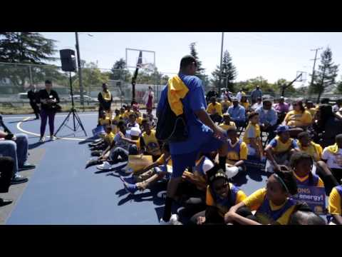 Verdese Carter Park Courts Unveiling Presented by PG&E