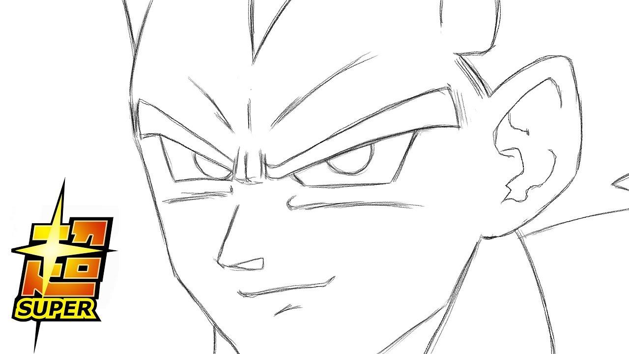 Comment Dessiner Vegeta Dragon Ball Super Youtube