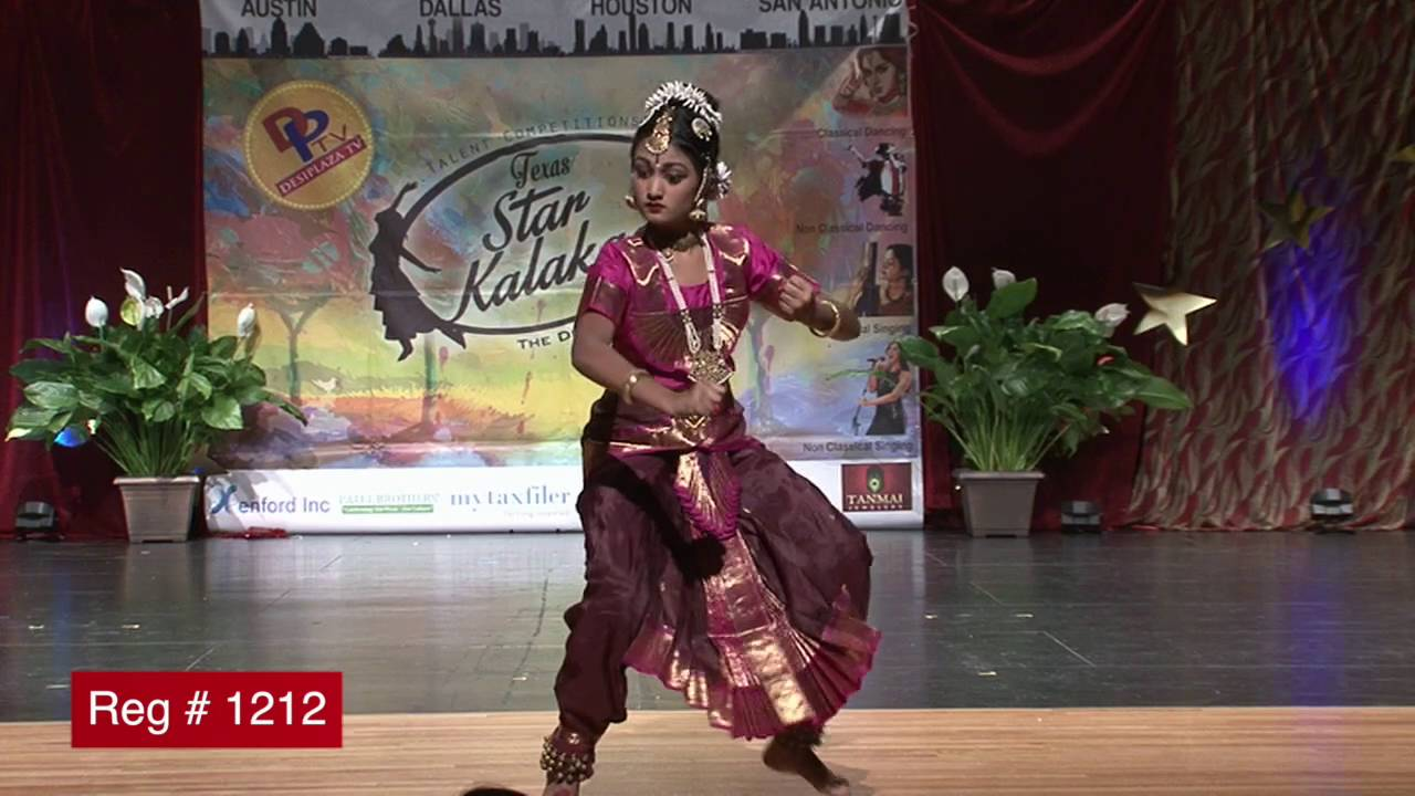 Participant Reg# 1212 Dancing for  Texas Star Kalakaar Title  on Saturday, June 4, 2016
