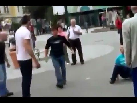 TUČA U BEČU:Srbin Prebio 2 Albanca !