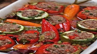 Фаршированные овощи.Вкусно и Просто!!!