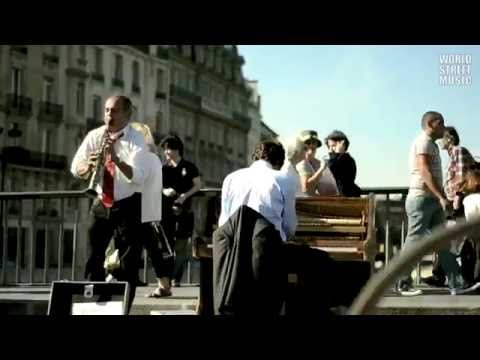 Paris Street Music : Amazing Jazz (HD)