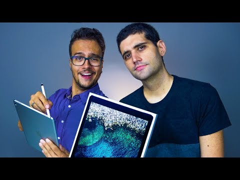 iPad Pro, o tablet MAIS PODEROSO da apple - Unboxing Ipad Pro 12.9 Polegadas