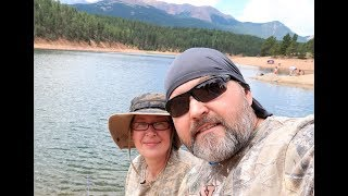 Рыбалка.Горы.Колорадо.Ну и...Обзор головных  уборов.)