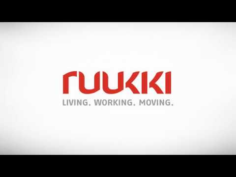 Ruukki energy panel system installation