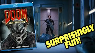 REVIEW: DOOM: ANNIHILATION Is Surprisingly Good! - Give It A Shot!