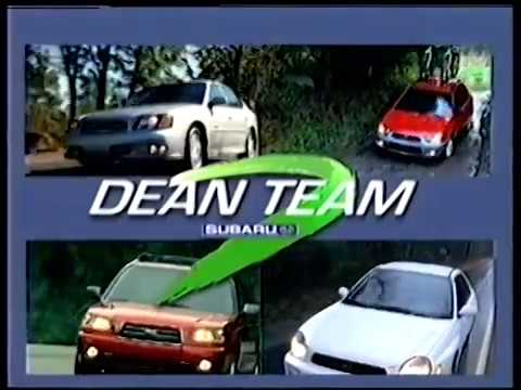 Dean Team VW, Subaru, Hyundai Commercials from 1999 till 2005 !