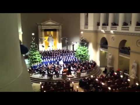 Copenhagen Boys Choir Christmas Oratorio 2012