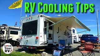 Tips Tricks for Keeping the RV Cool