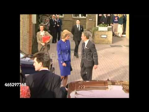 PRINCESS DIANA 13 gennaio 89 at National Heart & Lung Institute