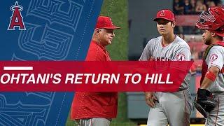 Ohtani returns to the mound