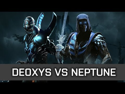 Injustice 2 - High Level FT10 - Deoxys (Blue Beetle) vs Sweet Neptune (Sub Zero)