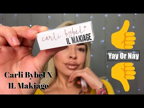 Carli Bybel x IL Makiage Collaboration | Swatches thumbnail