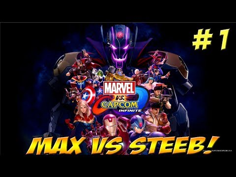 Max vs. Steeb! Marvel vs Capcom: Infinite Part 1 - YoVideogames