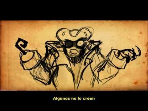 Beware the Beast of Pirate's Bay animatic