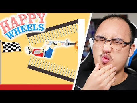 SUPER WALL CHALLENGE ! | Happy Wheels