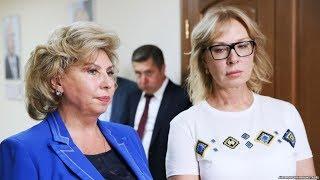 Омбудсмены приехали в колонию к Сенцову / Новости
