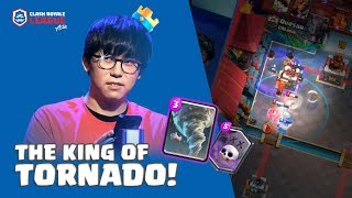 THE BEST TORNADO PLAYER IN ASIA?! | Sinchu vs Quesara | CRL Asia