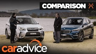 Comparison : Subaru Forester v BMW X1 | CarAdvice