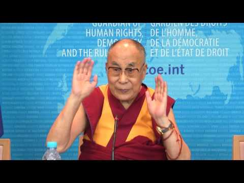 Dalai Lama at the Council of Europe - Full Conference Press