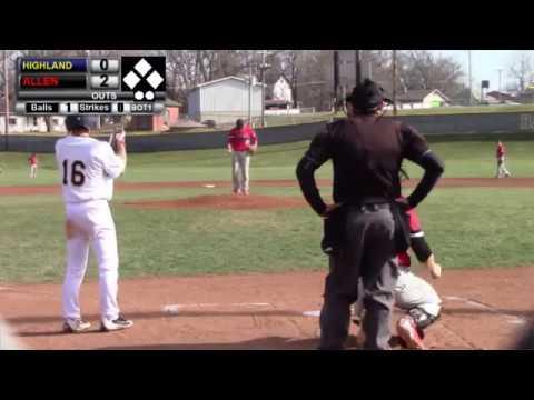 Highland Baseball vs Allen County CC- Game 2
