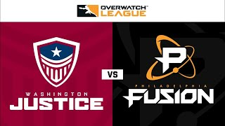 Overwatch Full Match Washington Justice vs Philadelphia Fusion OWL 2020 Season Week 2 Day 1