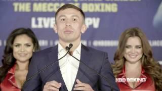 HBO Boxing News: Golovkin vs. Jacobs Final Press Conference Recap