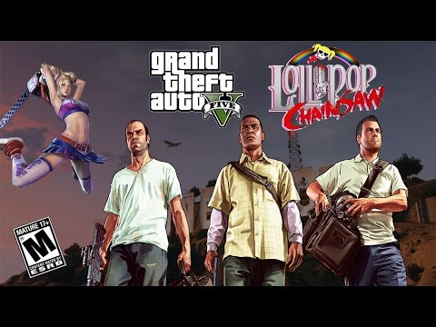 Champion-Gamer49 Randomly Plays GTA V & Lollipop Chainsaw