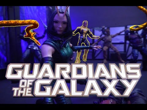 Guardians of the Galaxy vs Sinestro Stop Motion - Swagwav Contest 2018 Round 4