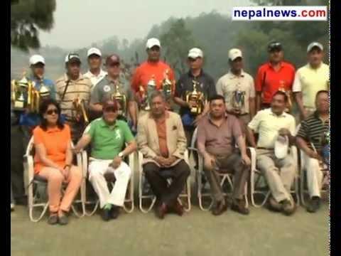 Maj Rayamajhi bags Himalayan Bank Golf Tournament title