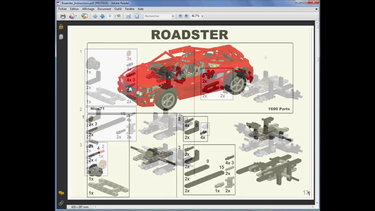 How to create a lego building instructions comment crer une how to create a lego building instructions comment crer une notice fr malvernweather Gallery