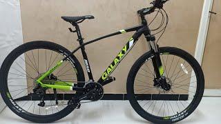 مراجعة الدراجة جلاكسى M50 مقاس 29 فرامل زيت galaxy   M50 oil brake
