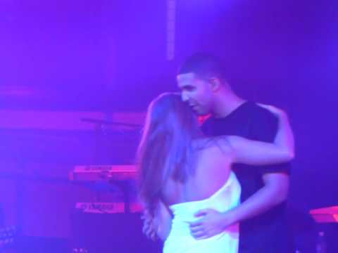 Drake Bringing a Girl on stage to slow dance with at Slippery Rock